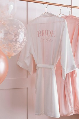Coast Ginger Ray-Bride To Be' Dressing Gown