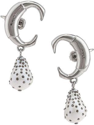 Chloé C Earrings in Pearl   FWRD