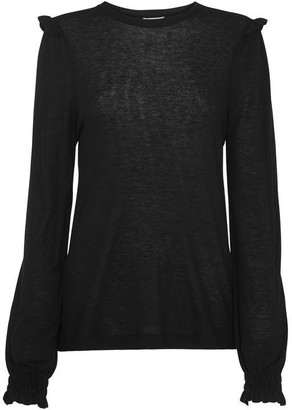 Whistles Wool Frill Essential Top