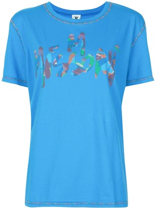 M Missoni brushstroke logo T-shirt