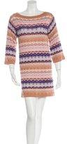 Missoni Cashmere & Silk-Blend Dress