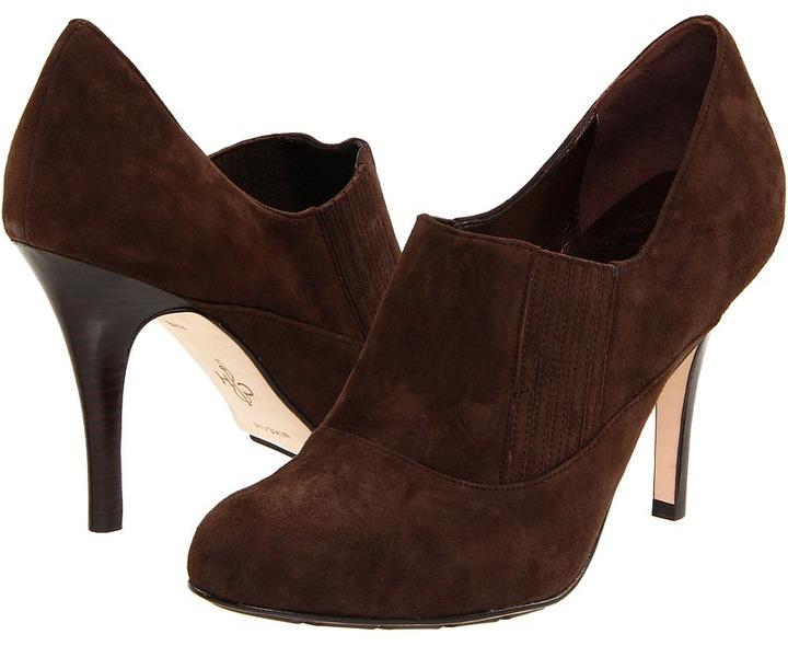 Cole Haan Air Talia Gore Bootie 90 (Dark Chocolate Suede) - Footwear