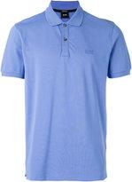 HUGO BOSS embroidered logo polo shirt - men - Cotton - XL