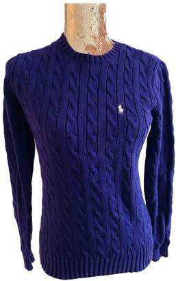 Ralph Lauren Purple Cotton Knitwear for Women