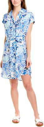 J.Mclaughlin Silk-Blend Shirtdress