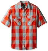 Woolrich Men's Zephyr Ridge Space Dye Modern Fit Shirt