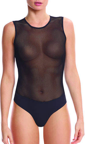 Commando Signature Fishnet Bodysuit
