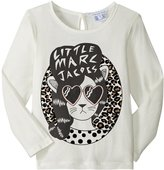 Little Marc Jacobs Rock Star Style T-shirt (Toddler/Kid) - Off White - 5A