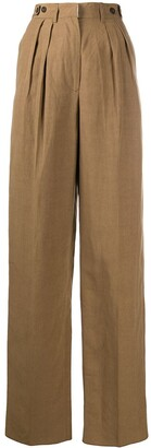 Jean Paul Gaultier Pre-Owned 1990s High-Waisted Trousers