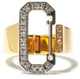 EÉRA Diamond & 18kt Gold Ring - Yellow Gold