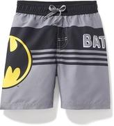 Old Navy DC Comics Batman Swim Trunks for Toddler Boys