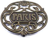 ODI HOUSEWARES Antique Gold Paris Trivet