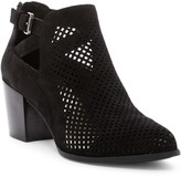 Anne Klein Gabs Perforated Ankle Boot