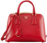 Prada Small Saffiano Promenade Bag, Red (Rosso)