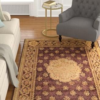 Loren Astoria Grand Hand-Tufted Wool Brown Area Rug Astoria Grand Rug Size: Rectangle 4' x 6'