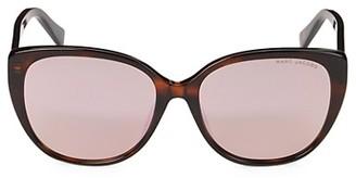 Marc Jacobs 57MM Round Cat Eye Sunglasses