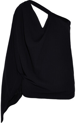 Roland Mouret Kara One-shoulder Cutout Crepe Top