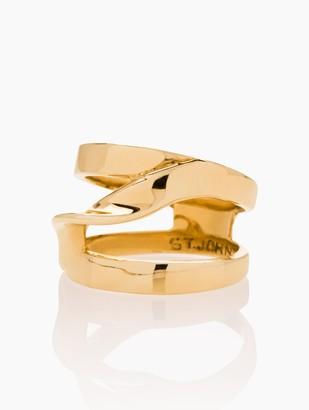 St. John Metal Twist Ring