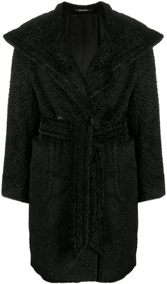 Tagliatore Long-Sleeved Belted Coat