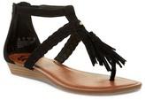 Fergalicious Tanya Thong Wedge Sandal