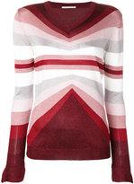Marco De Vincenzo geometric striped jumper