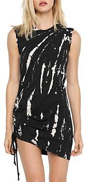 Pam & Gela Tie Dyed Cotton Bodycon Mini Dress