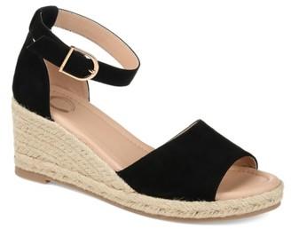Journee Collection Keana Espadrille Wedge Sandal