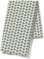 Pehr Designs Origami Tea Towel in Celadon