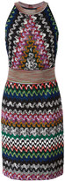 Missoni zigzag knitted dress - women - Polyester/Cupro/Viscose - 46