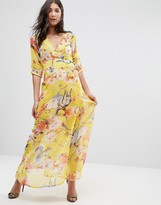 Traffic People Floral Maxi Dress