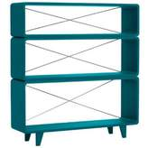 Laurette Millefeuille shelving unit - canary blue