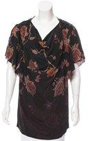 McQ Silk Floral Top