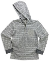 Sovereign Code Boys' Slubbed Striped French Terry Hoodie - Sizes 4-7