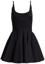 Alexander Wang Poplin Fit-&-Flare Dress