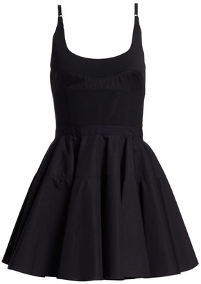 Alexander Wang Poplin Fit & Flare Dress