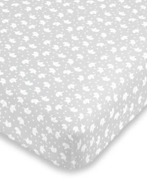 NoJo Elephant Print Mini Crib Sheet Bedding