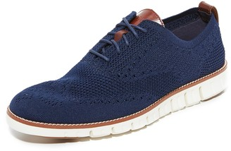 Cole Haan Zerogrand Feather Knit Oxfords