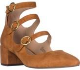 Charles David Charles Wonder Mary Jane Block Heels, Camel, 8.5 US