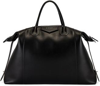 Givenchy Antigona Maxi Bag in Black   FWRD