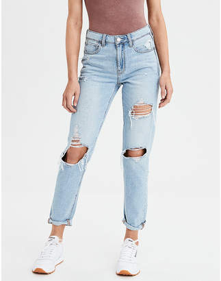 High-Waisted Tomgirl Jean