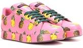 Dolce & Gabbana Baskets En Cuir Impri