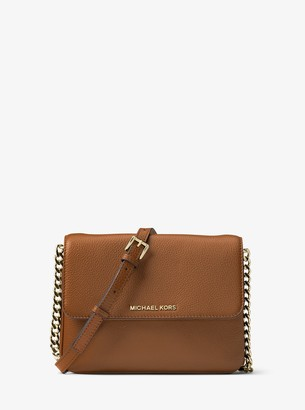 MICHAEL Michael Kors Bedford Pebbled Leather Crossbody Bag