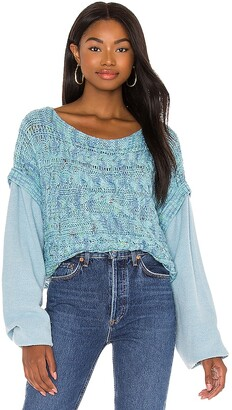 Free People Honey Cable Pullover