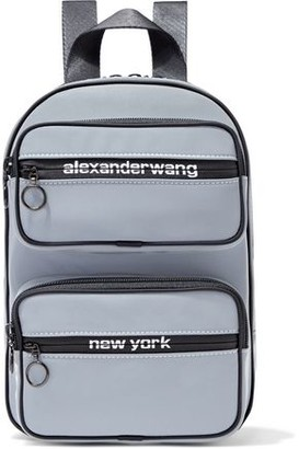 Alexander Wang Reflective Shell Backpack