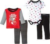 Bon Bebe World Champ 4 Piece Set (Baby)-Multicolor-0-3 Months