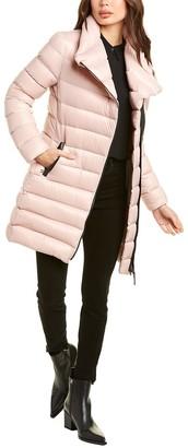 Mackage Leather-Trim Down Coat