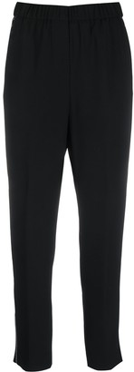 Peserico Cropped Chain-Embellished Trousers