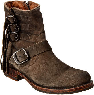 Frye Veronica Strap Short Suede Boot