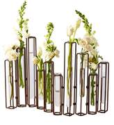 Twos Company Lavoisier Hinged Flower Vases (Set of 10)