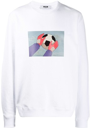 MSGM Holly & Benji print sweatshirt